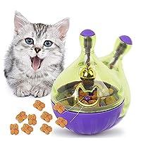 2 in 1猫のおもちゃ and ペット食器,キャットボウル, キャットフードボール,無毒食品級