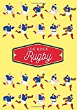Rugby Log book: Practice Book & Journal to Keep track of your training and improve your player skills   17 cm x 25 cm, 100 pages   Gift for Rugbymen & Rugby Player.