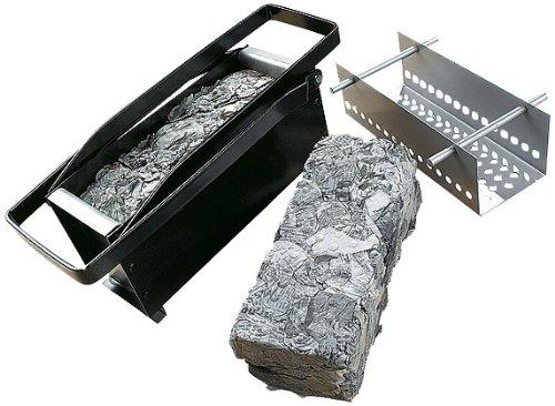 Great Ideas papel Log briqueta eléctrica–Eco verde forma de reciclaje periódicos viejos en troncos para tu fuego/chimenea