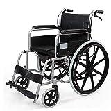 Hyy-yy Silla de rehabilitación médica, silla de ruedas, silla de ruedas plegable de peso ligero de conducción médica, Equipado for silla de ruedas silla de ruedas multiuso for un uso fácil, convenient