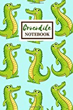 CROCODILE Notebook: Cute Journal Gift for a Girl Who Loves Crocs: Blank Lined Journal, 6 x 9 in (15.2 x 22.9 cm)