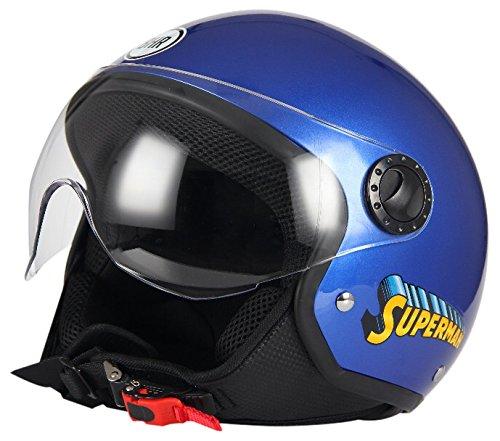 BHR, Motorradhelm, Demi-Jet One 801 XL Superman 801