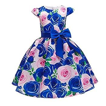 toddler floral dress toddler girl summer clothes 2 year old girl clothes 3 years girls dresses toddler girl fall dresses floral dress fall toddler dress fall dresses for toddler girl  LK4 Blue,3