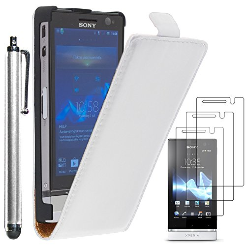 ebestStar - Funda Compatible con Sony Xperia U, Sony Ericsson ST25i Carcasa...