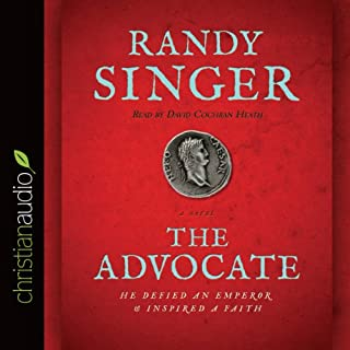 The Advocate audiobook cover art