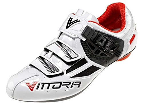 Scarpa Vittoria Speed tg. 42 Bianco - rosso corsa