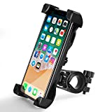 Bike Phone Mount, TIQUS Bike Phone Holder Bicycle Phone Holder/Mount Compatible for Most Smart Phone and Cellphone