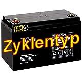 AKKU Batterie Vision 6FM100D-X 12V 100Ah GOLFCADDY MOOVER Boot Scooter Elektromobil Rollstuhl ZYKLENTYP -