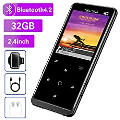 💾【32GB Large Memory & Up To 128GB Expansion】32GB large internal memory, store more lossless music. Can even be used as a U disk. If you are still afraid of not enough memory, you can also use a maximum 128GB SD card for expansion. 🎶【2.4 Inch Large Sc...