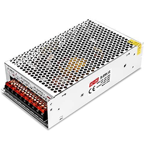 LEDMO 12V 20A Alimentatore Interruttore AC 110/240V to DC Trasformatore di Alimentazione 240W