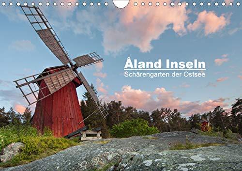 Åland Inseln: Schärengarten der Ostsee (Wandkalender 2021 DIN A4 quer)