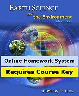CengageNOW for Thompson/Turk's Earth Science and the Environment, 4th Edition