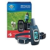 PetSafe 600 Yard Lite Remote Training Collar – Smaller Version for Small or Medium Dogs – Choose from Tone, Vibration, or 15 Levels of Static Stimulation – Medium Range for Training Off Leash Dogs