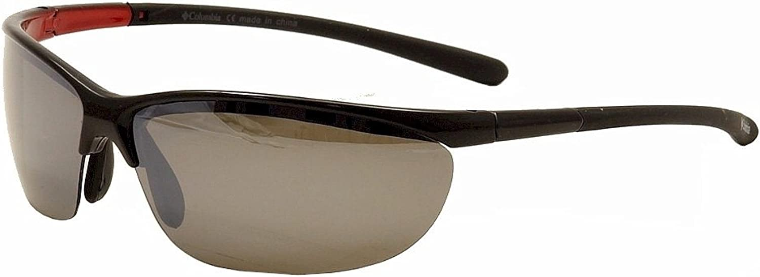 Columbia CBC602 CBC 602 01 Black Polarized Sport Sunglasses 72mm
