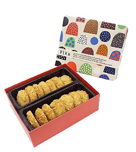 フィーカ Fika クッキーアソート クッキー 北欧の街 お菓子屋 (ココスカーコル 国産もち米あられ1個セット)