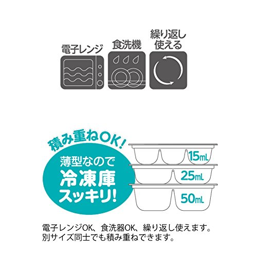 【Amazon.co.jp限定】リッチェルRichellわけわけフリージングブロックトレーR151ブロック容量15ml12ブロック4枚入