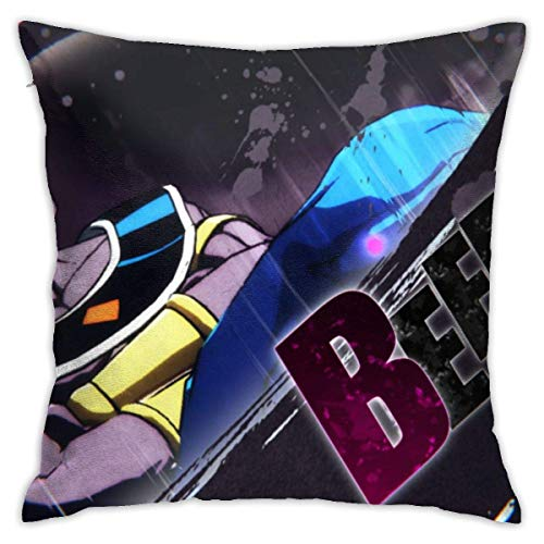 LaoJiNan-shop Dragon Ball Z Dragon Ball Z Kai Dragon Ball Super Dragon Ball Kämpfer Zvideo Gamesb Eerus Dragon Ball 18 \'x 18\' Standard Baumwolle Pillowcse Cover Kissenschutz