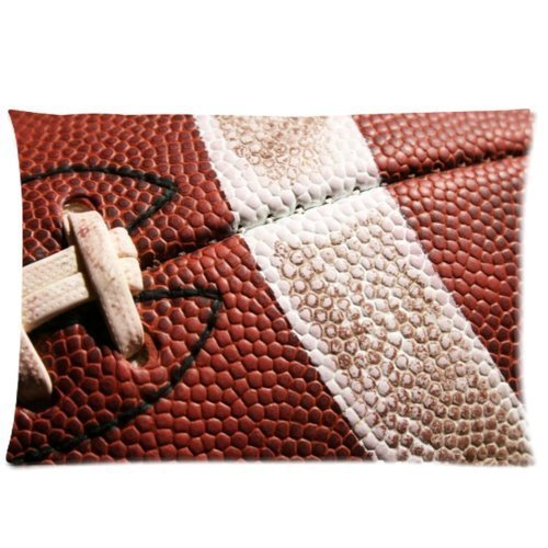 Mina-Shop American Football Two-Side Polyester Pillowcase 20x30 Inch