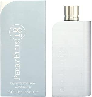 Perry Ellis 18 for Men, 3.4 fl oz Eau de Toilette Spray