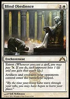 Magic: the Gathering - Blind Obedience (6) - Gatecrash - Foil
