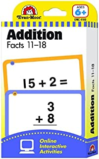 Flashcards: Addition Facts 11-18 (Learning Line Flashcards)