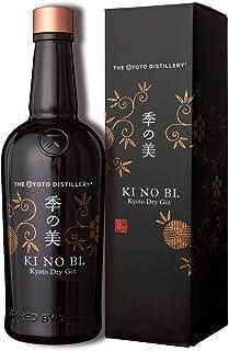 KI NO BI Kyoto Dry Gin – Japanischer Reisschnaps mit einem fruchtig-würzigen Ausklang – 70cl Flasche inkl. Geschenkverpackung – 45,7 % Vol.