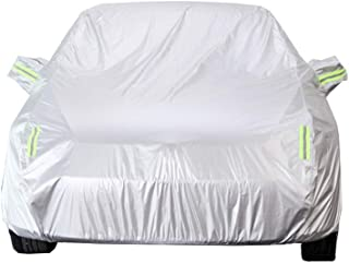 KTYXDE Car Cover SUV SUV Indoor and Outdoor Thick Oxford Cloth Anti-fouling Sun Protection Rain Warm Cover for Mercedes-Benz A-Class A200L Models Car Cover (Size : Mercedes A180)