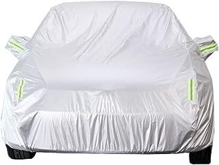 no inflamable al Polvo Resistente a los Rayos UV Funda para Coche JIANPING Funda de Tela Oxford a Prueba de Lluvia Resistente al Viento Adecuada para Usar en Maserati Ghibli