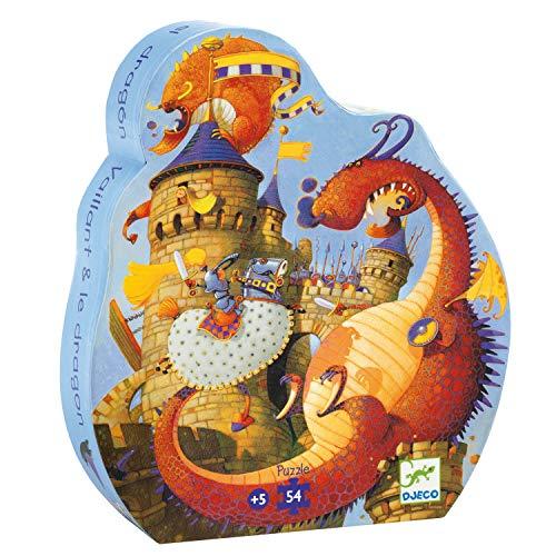 Djeco puzzel Joris en de Draak - 54 stukjes