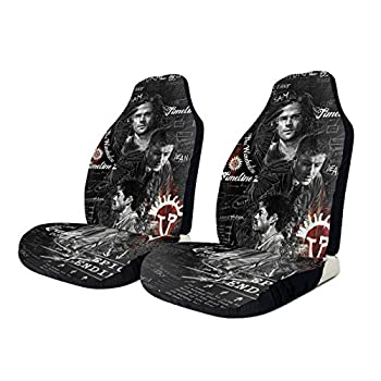 Yoovo Supernatural Car Seat Cover Universal Type Suitable for Front Seat Cushion Protection Cover of Cars Trucks & SUV 2 Pcs