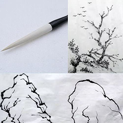 MB030 Hmayart Featured Brush for Chinese Painting Ink Brush Calligraphy Long Brush for Landscape product image