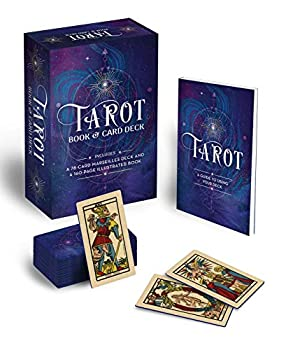 Tarot Book & Card Deck  Includes a 78-Card Marseilles Deck and a 160-Page Illustrated Book
