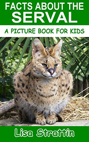 Facts About the Serval (A Picture Book for Kids, Vol 327) (English Edition)