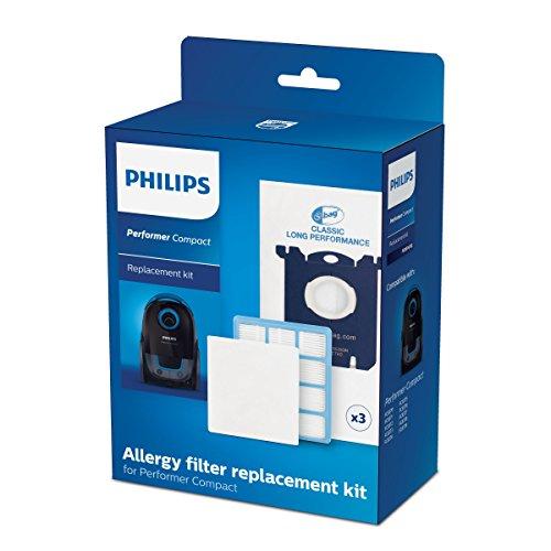 Philips FC8074/02 Ersatzset für Performer Compact-Reihe Staubsauger