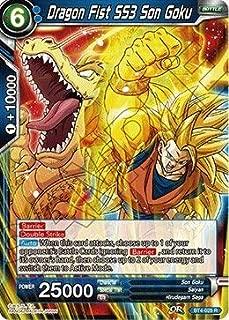 Dragon Fist SS3 Son Goku - BT4-025 - Series 4 - Colossal Warfare - Dragon Ball Super TCG