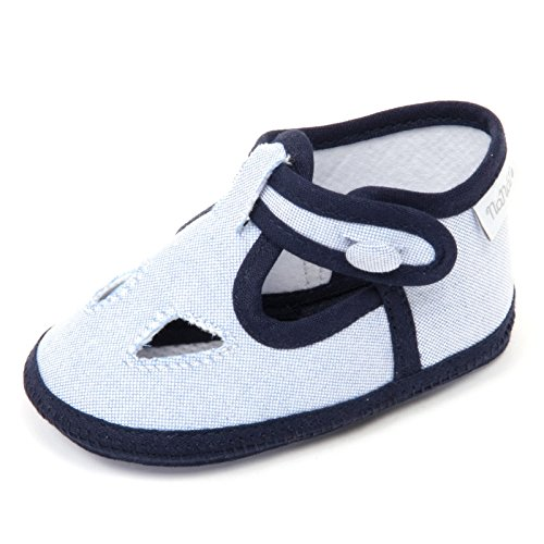 NANAN C6914 Sandalo Bimbo culla Scarpa blu/Azzurro Shoe Kid [17]