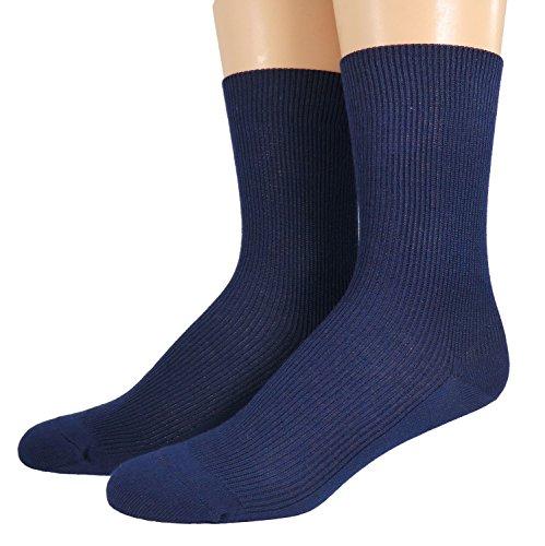 Shimasocks Socken 100prozent Organic, alle Farben, uni, ab Gr. 17/18, Farben alle:marine, Größe:37/38