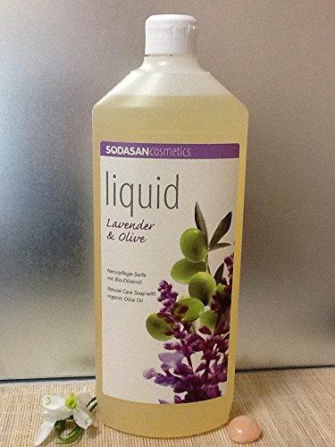 6 x 1 Liter SODASAN LIQUID Lavendel-Olive