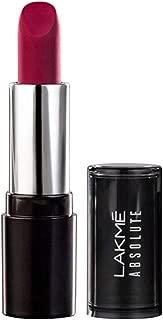 Lakmé Absolute Matte Revolution Lip Color, 104 Blushing Red, 3.5 g