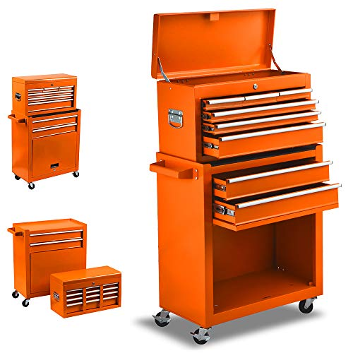 Sunny Deals 8-Drawer Rolling Tool Box