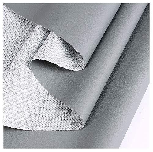 bandezid Polipiel para tapizar, Manualidades, Cojines o forrar Objetos. Venta de Polipiel por Metros. Ancho 160cm-Gris 1.6x5m