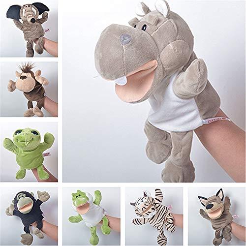 Miwaimao Juguetes Peluche marioneta ventrílocuo Nursery