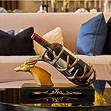 JND Weinregal Weinregal, kreatives Handwerk, Mode Weinregal, Größe: 36 cm lang 19 cm hoch Weinschrank