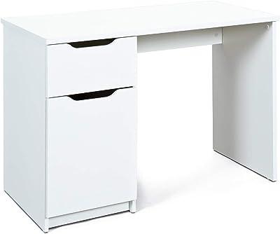 TopKit 5210RB Mesa de Escritorio Burgos 5210 con cajón y Puerta ...