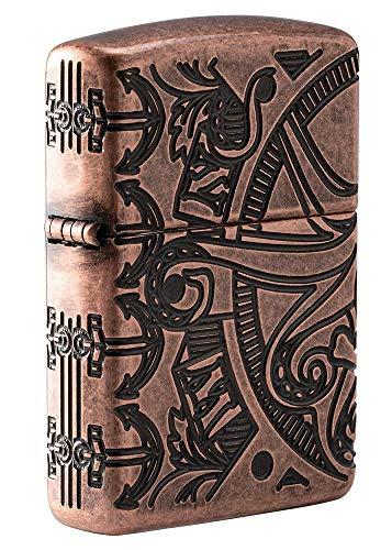Zippo Nautical Scene Design Pocket Lighter