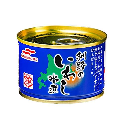 マルハニチロ『釧路のいわし水煮』