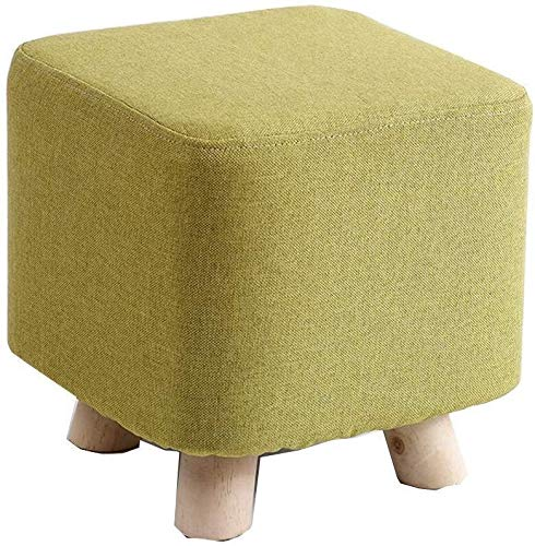 Yxsd Sgabello in legno massello creativo moda piccola panca sedia casa cambiando scarpe sgabello sgabello divano adulto rotondo molo sgabello per soggiorno corridoio