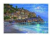 YCMXMY Puzzle 300 Piezas, Hotel De Vacaciones, Personalizado De Madera Montaje Rompecabezas Divertido, 38X26Cm