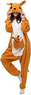 ElfZh Unisex Adult Onesie One Piece Animal Pajamas for Halloween Costume Cosplay