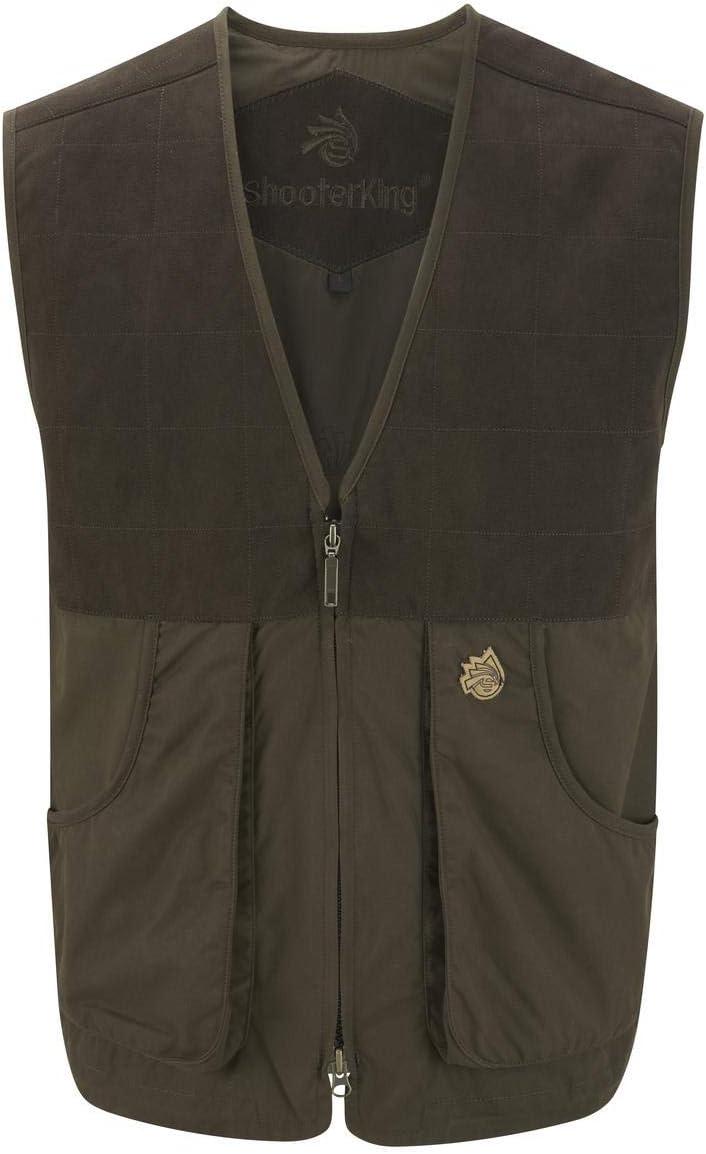 Shooterking Forest Vest Dark Olive/Brown